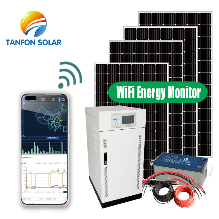 complete 80kw solar system set including battery storage
