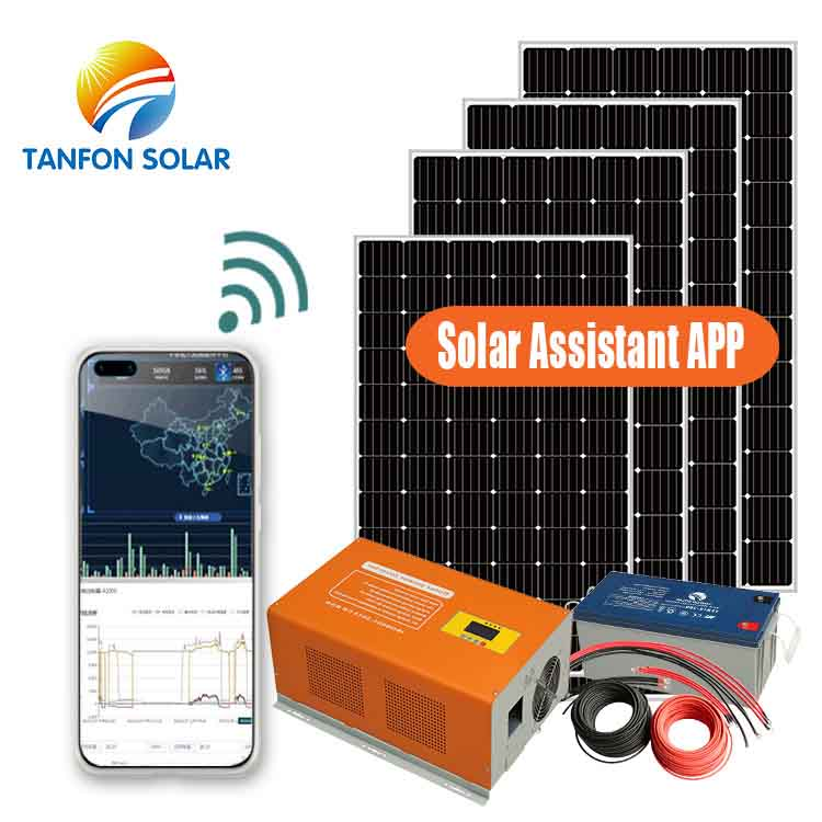 3KW 13a solar power system for home lighting