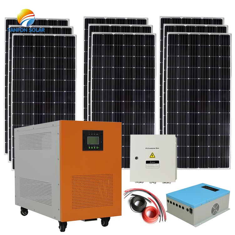 solar system for home Companies Roof Installation 7kw Solar Panel And Batter Kit