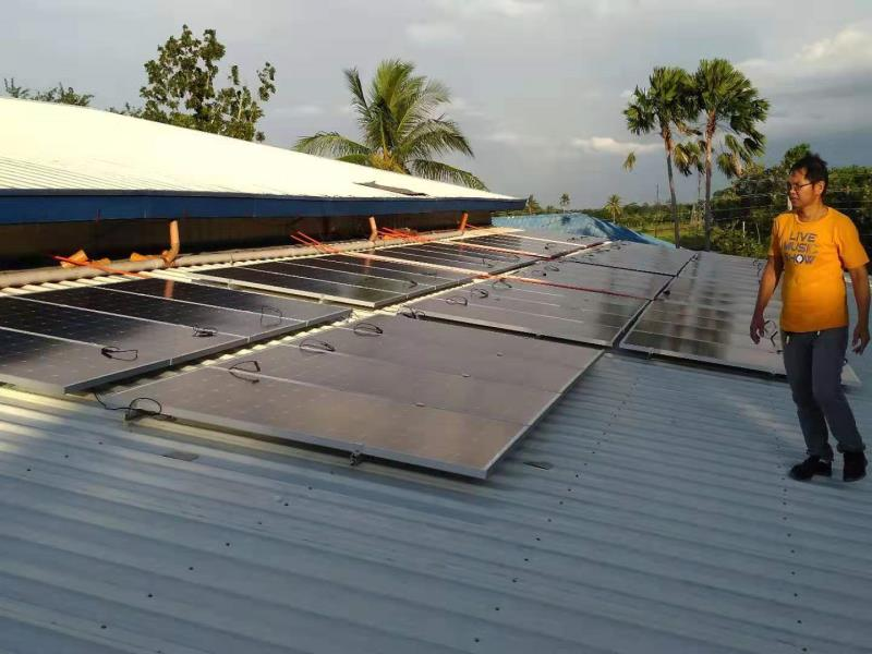 50KW LOW FREQUENCY off-grid solar system with batteries