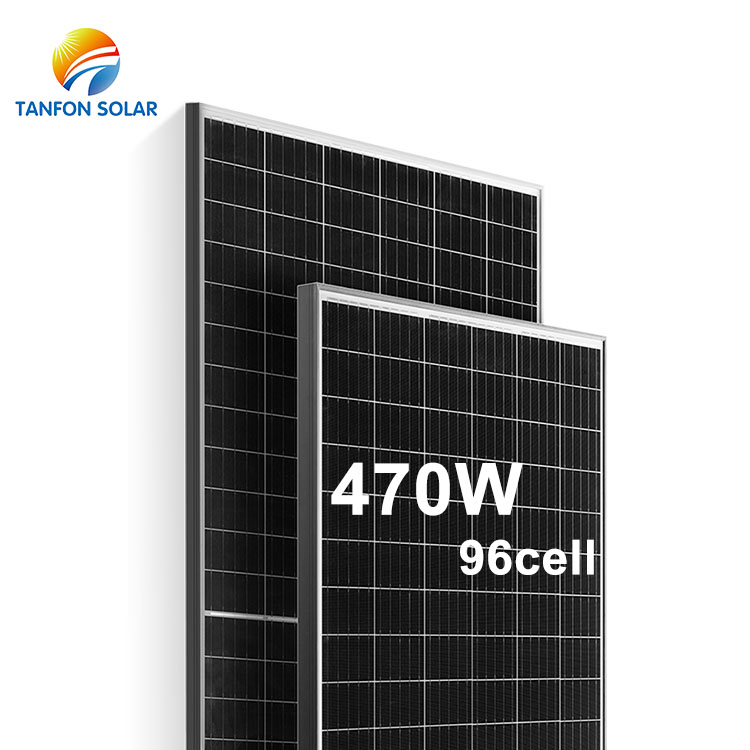 New High Efficiency solar panels for home 470w roof mounting kits