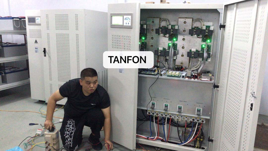 200kw TANFON SOLAR SYSTEM FOR A SHOPPING BUILDING