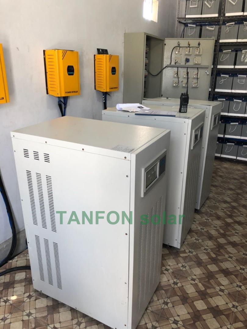 TANFON 50KW SOLAR SYSTEM IN INDONESIA