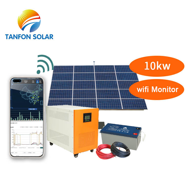 build 10kW off grid complete solar system 3 phase
