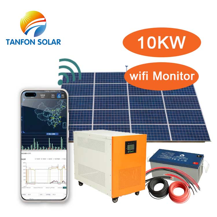 off grid solar inverter generator 6 kva to 10 watts of electricity