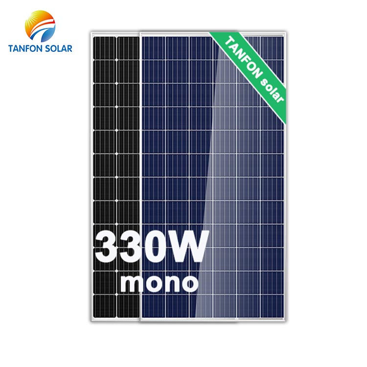 Solar Power Panels 330 Watt Solar Panel 330W Solar Panels For Home