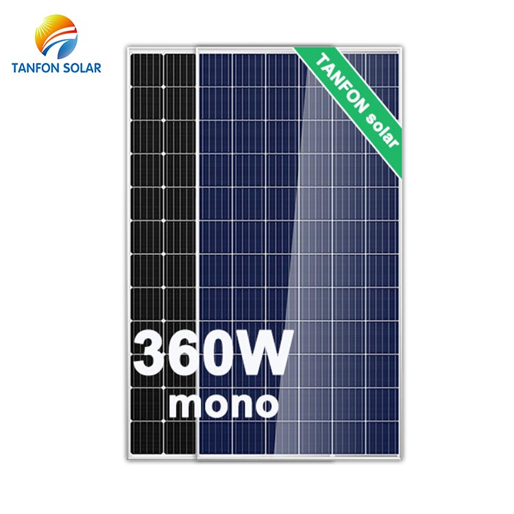 Grade a Highest Efficiency Super Power Perc 360W Monocrystalline Solar Panel