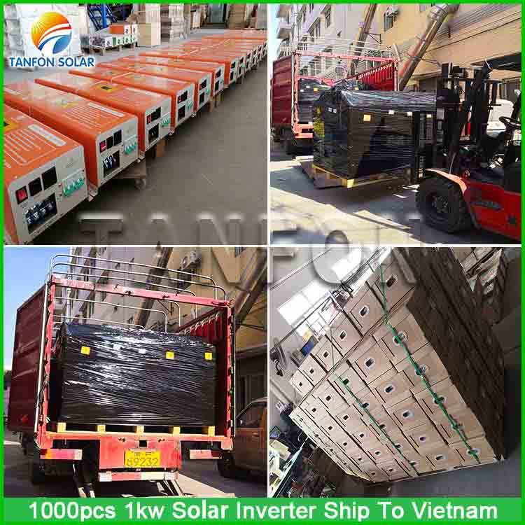 1000 sets 134 solar inverter projects in Vietnam