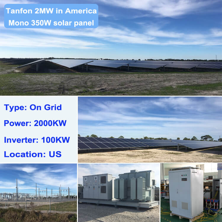 2 megawatt power solar system